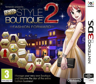 New Style Boutique 2 - Fashion Forward 3DS coverM (ECDP)