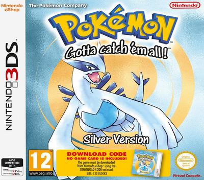 Pokémon - Gotta catch 'em all! - Silver Version 3DS coverM (QBTA)