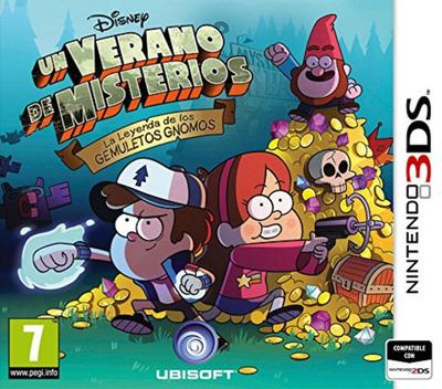 Un Verano de Misterios - La Leyenda de los Gemuletos Gnomos 3DS coverM (AGFP)