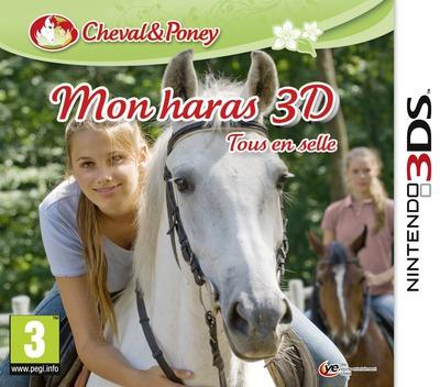 Mon haras 3D - tous en selle 3DS coverM (AMUP)
