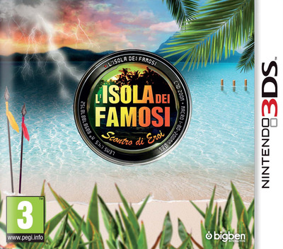 L'Isola dei Famosi - Scontro di Eroi 3DS coverM (BSHP)