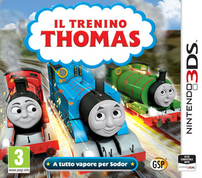 Il Trenino Thomas - A tutto vapore per Sodor Array coverM (BTBP)