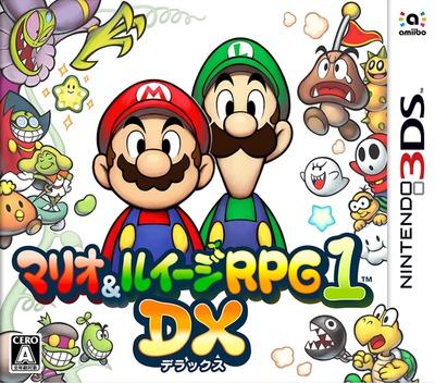 マリオ&ルイージRPG1 DX 3DS coverM (BRMJ)