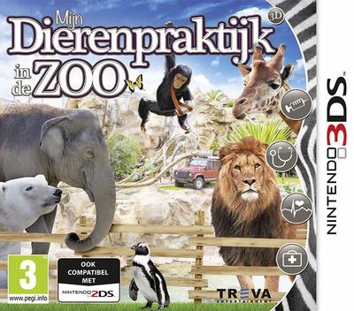 Mijn Dierenpraktijk in de Zoo 3D 3DS coverM (ATXP)