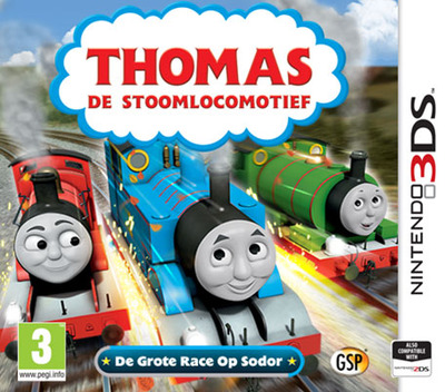 Thomas de Stoomlocomotief - De Grote Race Op Sodor Array coverM (BTBP)