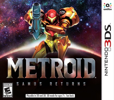 Metroid: Samus Returns 3DS coverM (A9AE)