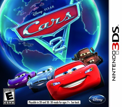 Cars 2 3DS coverM (AAZE)