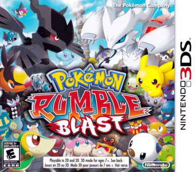 Pokémon Rumble Blast 3DS coverM (ACCE)
