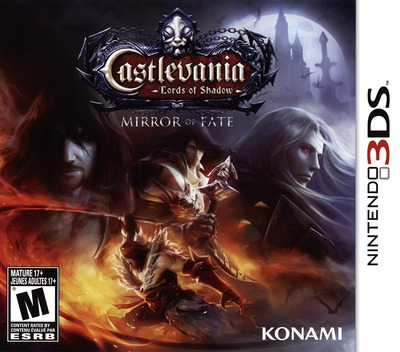 Castlevania - Lords of Shadow - Mirror of Fate 3DS coverM (ACFE)