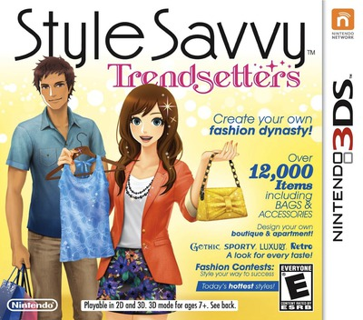 Style Savvy - Trendsetters 3DS coverM (ACLE)