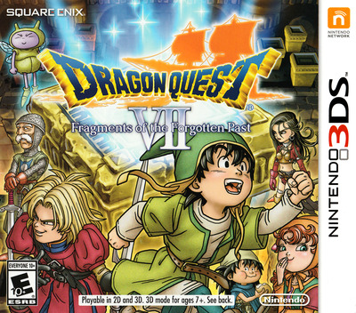 Dragon Quest VII: Fragments of the Forgotten Past 3DS coverM (AD7E)