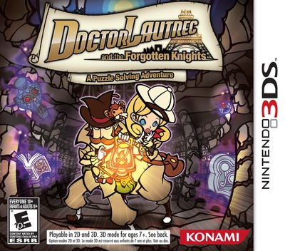 Doctor Lautrec and the Forgotten Knights 3DS coverM (ADLE)