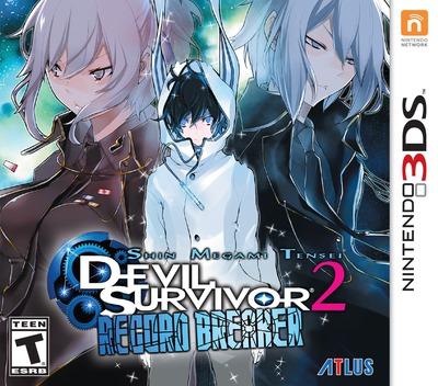 Shin Megami Tensei - Devil Survivor 2 - Record Breaker 3DS coverM (ADXE)
