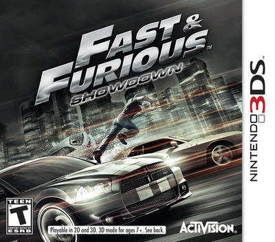 Fast & Furious - Showdown 3DS coverM (AFHE)