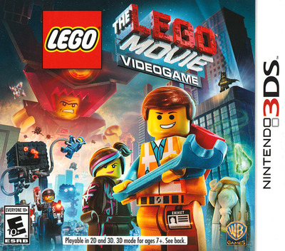 The LEGO Movie Videogame 3DS coverM (AFJE)