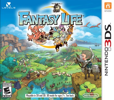 Fantasy Life 3DS coverM (AFLE)