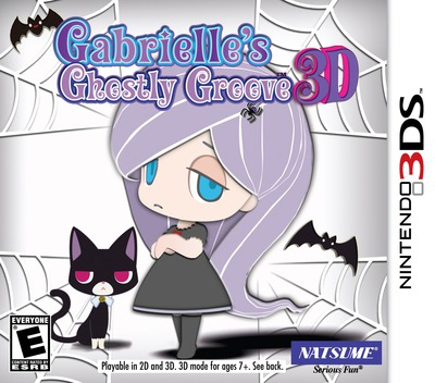Gabrielle's Ghostly Groove 3D 3DS coverM (AG3E)