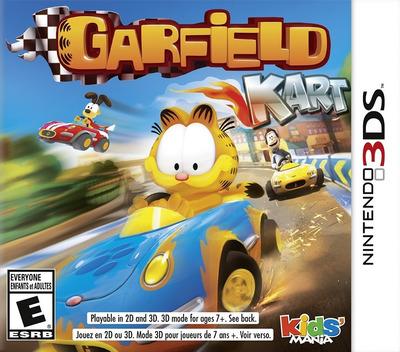 Garfield Kart 3DS coverM (AGPE)