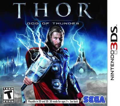 Thor - God of Thunder 3DS coverM (AGTE)