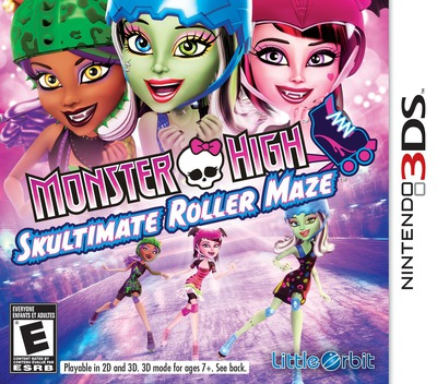 Monster High - Skultimate Roller Maze 3DS coverM (AH5E)