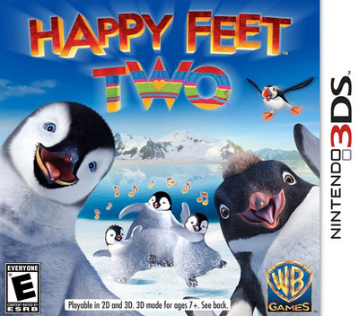 Happy Feet Two 3DS coverM (AHFE)