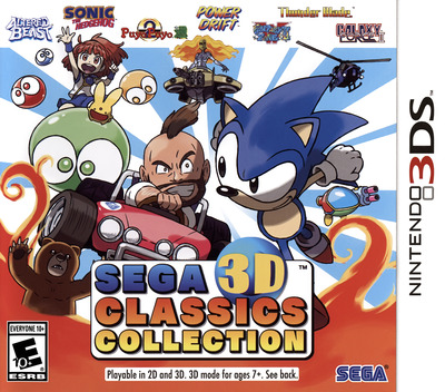 Sega 3D Classics Collection Array coverM (AK3E)