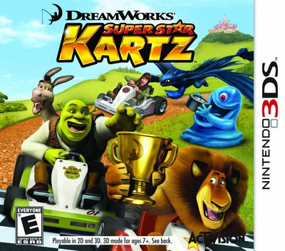 DreamWorks Super Star Kartz 3DS coverM (AKZE)