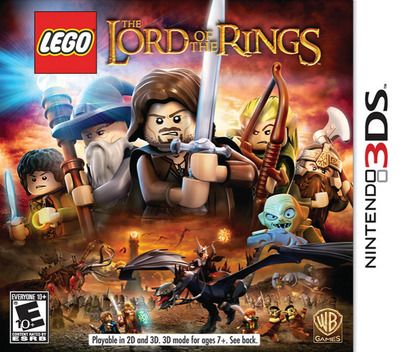 LEGO The Lord of the Rings 3DS coverM (ALAE)