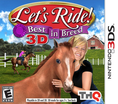 Let's Ride! Best in Breed 3D 3DS coverM (ALDE)