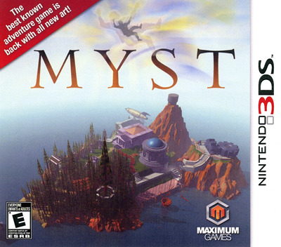 Myst 3DS coverM (AM7E)