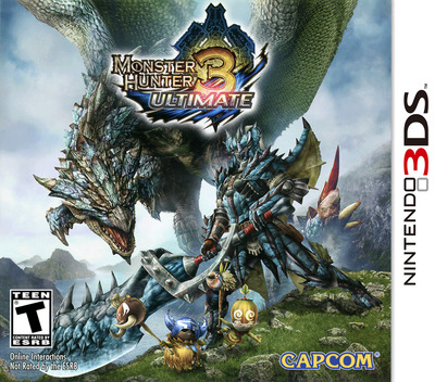 Monster Hunter 3 Ultimate 3DS coverM (AMHE)