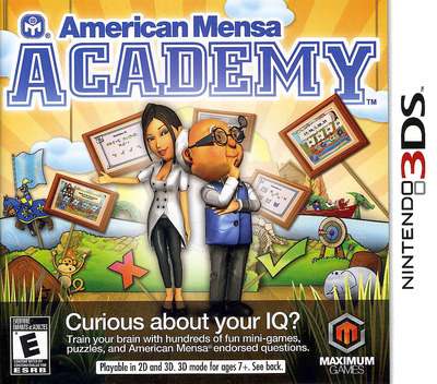 American Mensa Academy 3DS coverM (AMME)