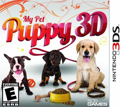 My Pet Puppy 3D 3DS coverM (AMYE)