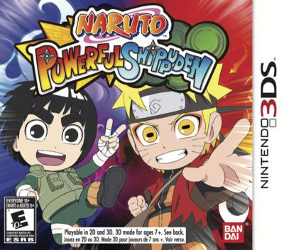 Naruto Powerful Shippuden 3DS coverM (AN4E)