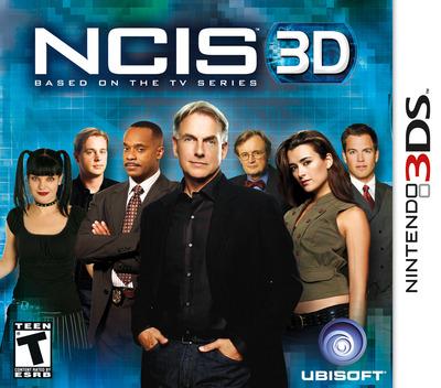 NCIS 3D 3DS coverM (ANCE)