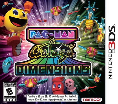 Pac-Man & Galaga Dimensions 3DS coverM (APGE)