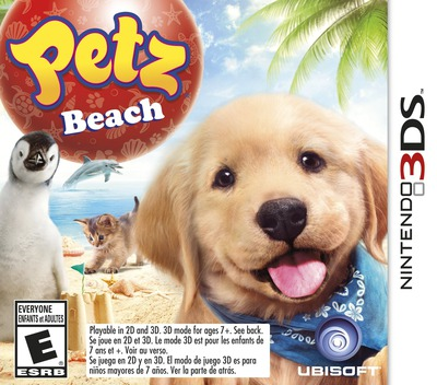 Petz Beach 3DS coverM (APIE)