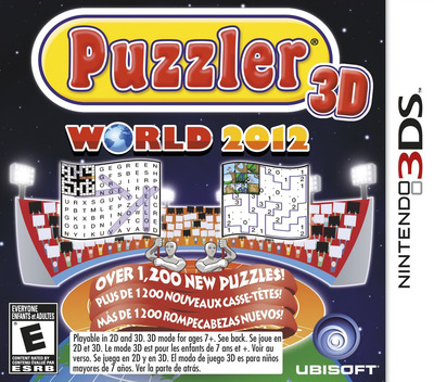 Puzzler World 2012 3D 3DS coverM (APWE)