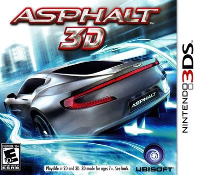 Asphalt 3D 3DS coverM (ASFE)
