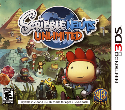 Scribblenauts Unlimited 3DS coverM (ASLE)
