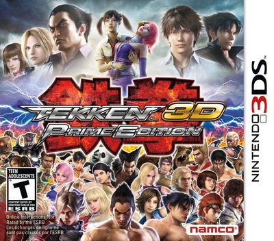 Tekken 3D - Prime Edition 3DS coverM (ATKE)