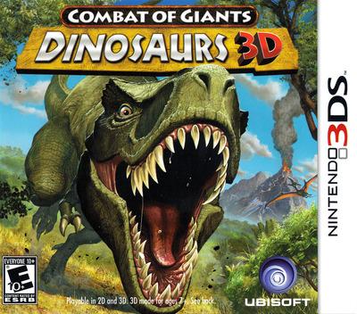 Combat of Giants - Dinosaurs 3D 3DS coverM (ATTE)