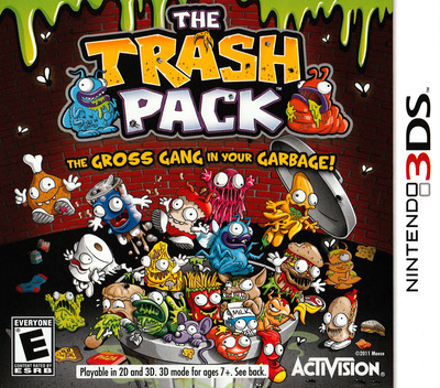 The Trash Pack 3DS coverM (ATZE)