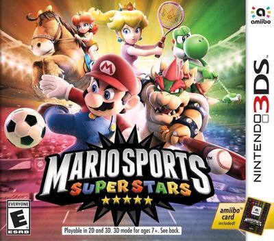Mario Sports Superstars 3DS coverM (AUNE)
