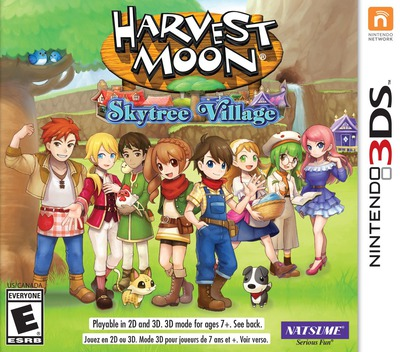 Harvest Moon: Skytree Village 3DS coverM (AVAE)