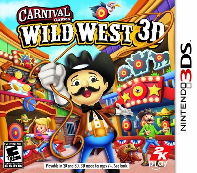 Carnival Games - Wild West 3D 3DS coverM (AW2E)