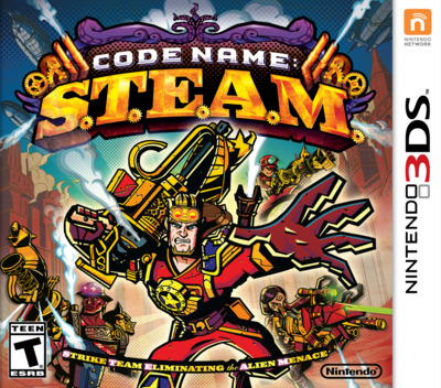 Code Name: S.T.E.A.M. 3DS coverM (AY6A)