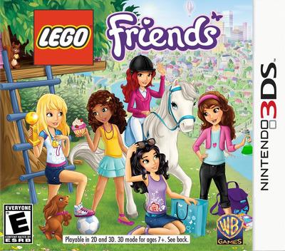 LEGO Friends 3DS coverM (AZJE)
