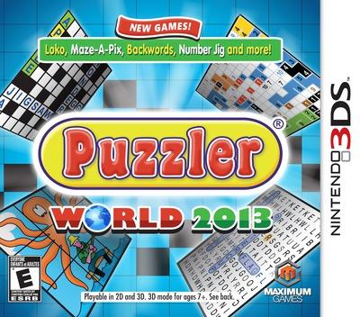Puzzler World 2013 3DS coverM (AZLE)