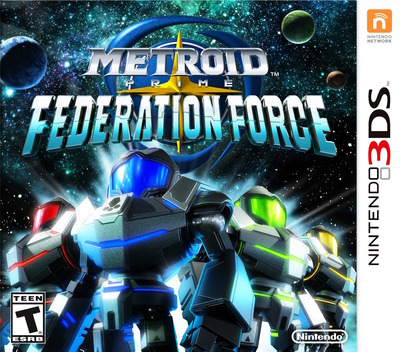 Metroid Prime: Federation Force 3DS coverM (BCAE)